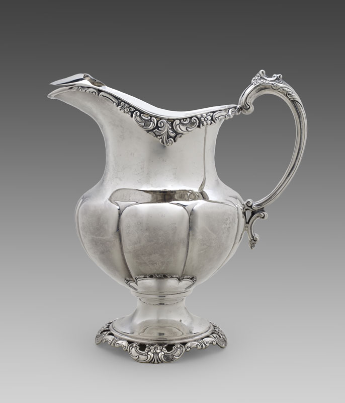 Phyllis Tucker Antiques Sterling Water Pitcher In Grande
